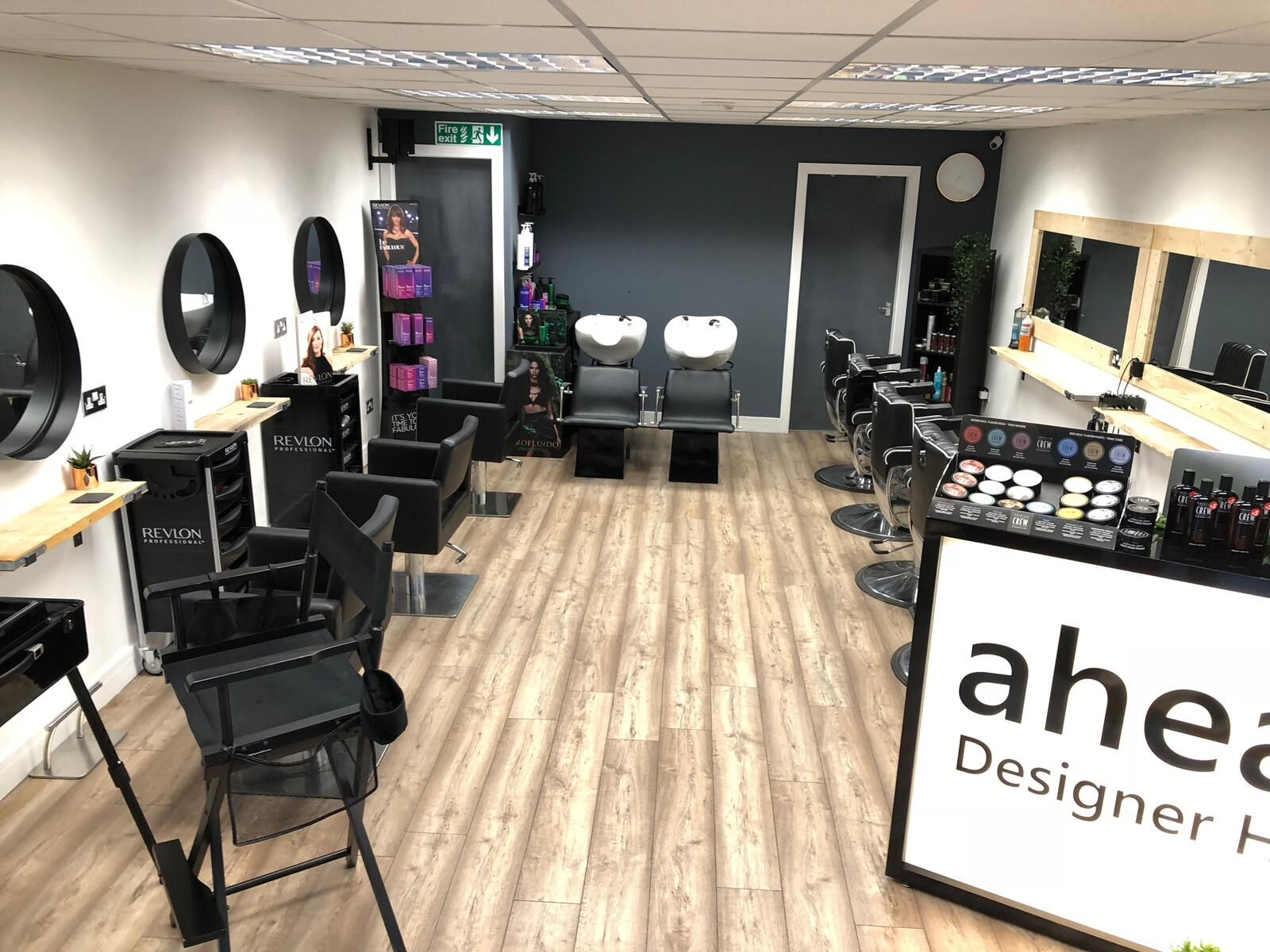 Heswall Salon Interior