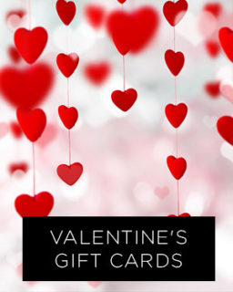 Give The Gift Of Gorgeous Hair: Valentine's Gift Cards
