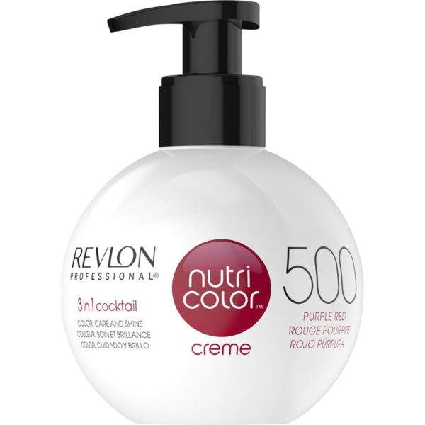 Revlon Nutri Colour Creme - 500 Purple Red