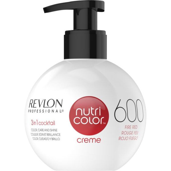 Revlon Nutri Colour Creme - 600 Fire Red