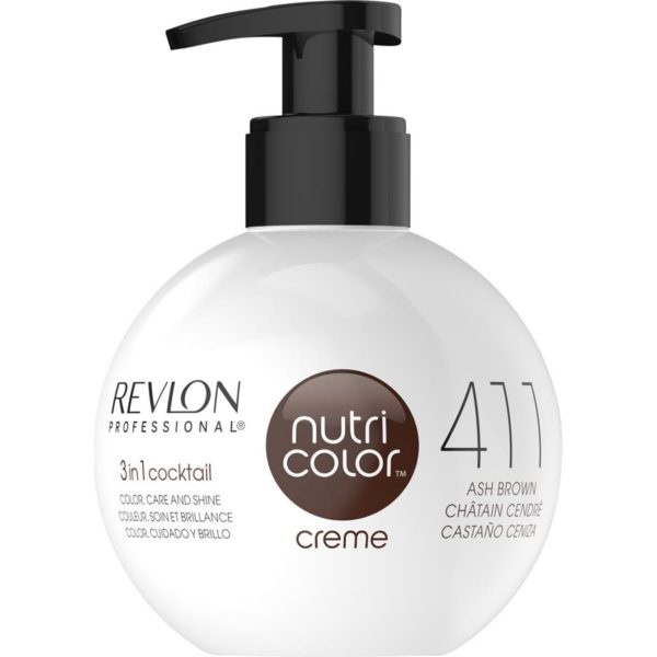 Revlon Nutri Colour Creme - 411 Ash Brown