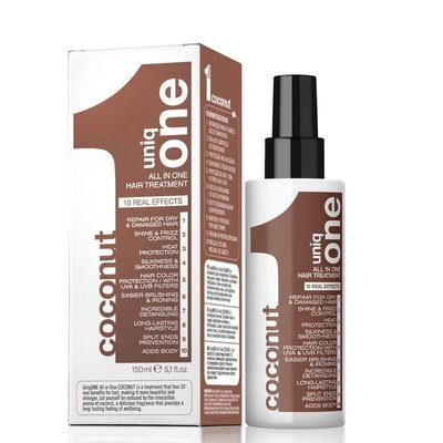 uniq one all in one hair treatment coconut