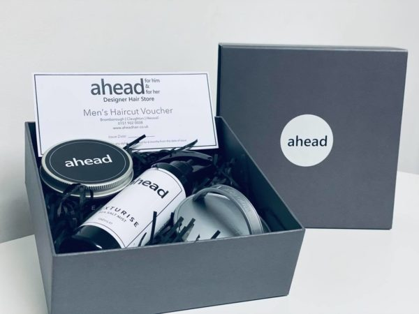 ahead Hair Care Christmas Set inc. Haircut