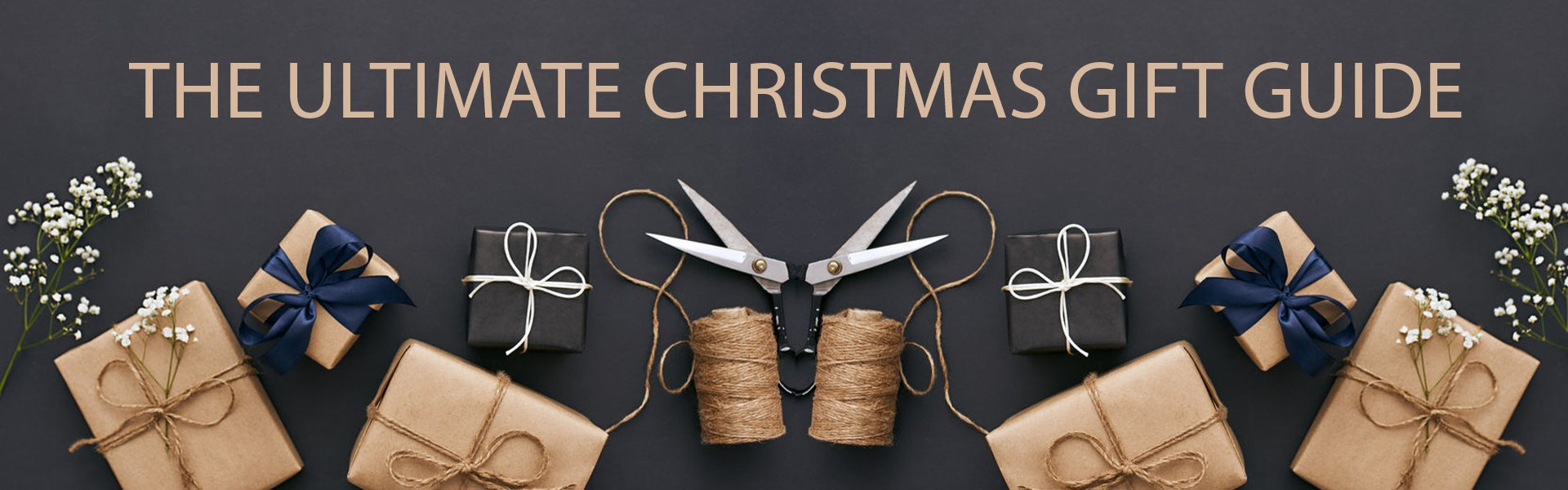 The Ultimate Christmas Gift Guide banner