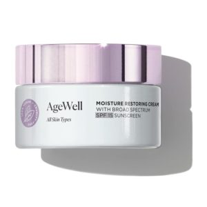 Arbonne AgeWell Moisture Restoring Cream with Broad Spectrum SPF 15