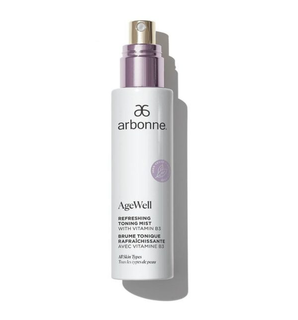 Arbonne AgeWell Refreshing Toning Mist with Vitamin B3