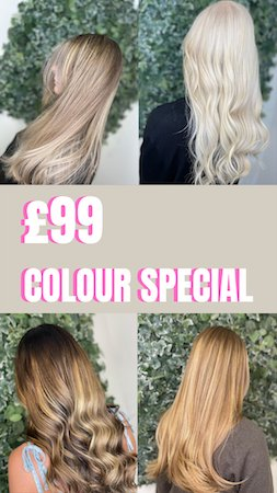Ahead Salon in Wirral Offering Any Colour Service for Just £99!